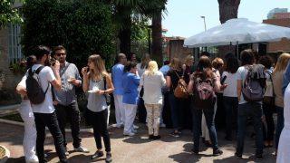 El Hospital Mare de Déu de la Mercè acoge un Sant Jordi lúdico-festivo contra el estigma en salud mental